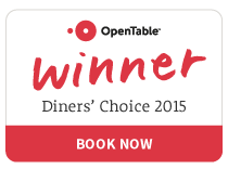 Open table award for 2015